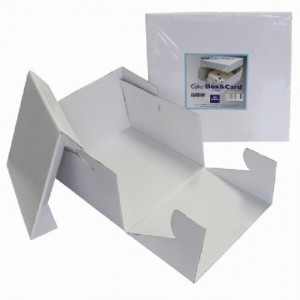 Boîte à gâteau PME 32,5 x 32,5 x 15 cm