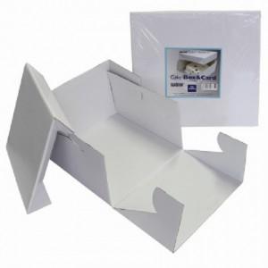 Boîte à gâteau PME 37,5 x 37,5 x 15 cm