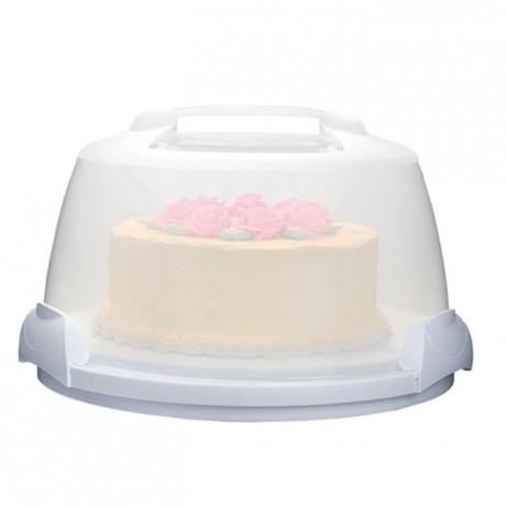 Boîte à gâteau portable Wilton rond