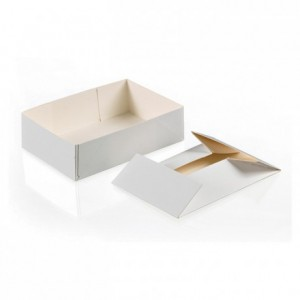 Box for petits-fours without lid 1000 g (100 pcs)