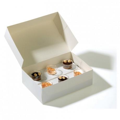 Box for verrines 260 x 180 x 80 mm (50 pcs)