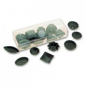 Petits fours mould Exopan (50 pcs)