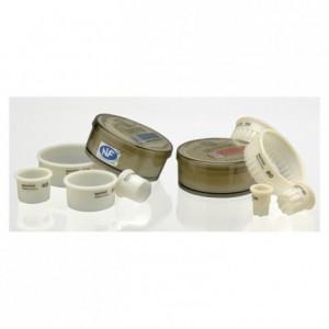 Boite de 7 découpoirs ronds cannelés impairs Exoglass Ø 35 à 95 mm