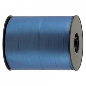 Gift wrap ribbon blue 500 m x 7 mm