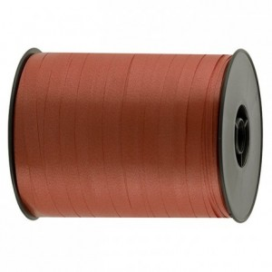 Gift wrap ribbon red 500 m x 7 mm