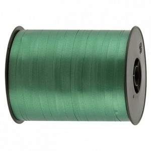 Gift wrap ribbon green 500 m x 7 mm
