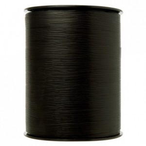 Gift wrap ribbon black 250 m x 10 mm