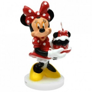 Minnie-shaped candle