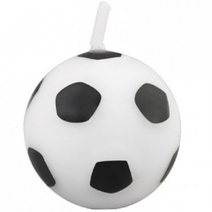 Wilton Candle Soccer Ball pk/6