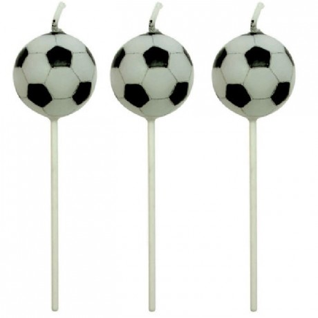 Bougies Football PME 4 pièces