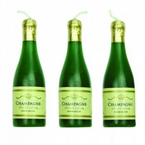PME Candles Champagne Set/6
