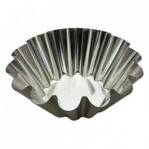 Brioche fond plat fer blanc Ø200 mm (lot de 3)