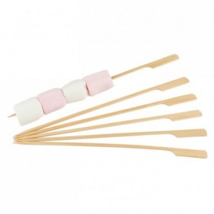 Flat skewer L 250 mm (200 pcs)