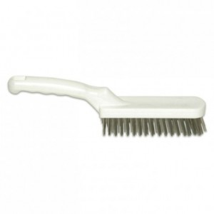 Brush for grill in stainless steel L 300 mm