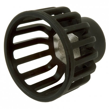 Round jet nozzle for electrical spray guns R4
