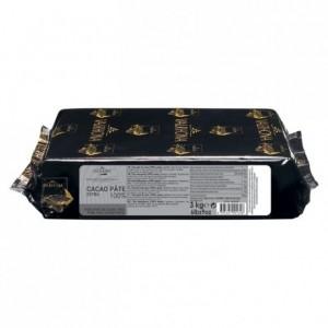 Cacao pâte extra 100% Signature Professionnelle blocs 3 kg