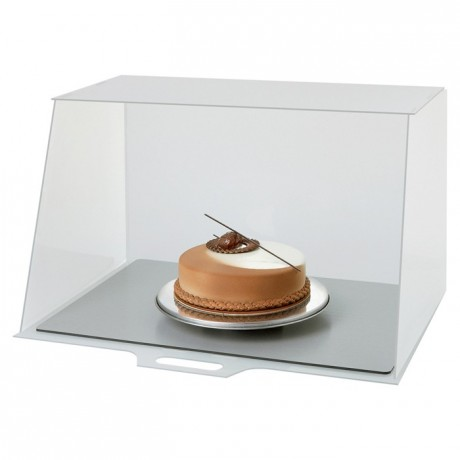 Cabine de peinture culinaire PP 640 x 515 x 410 mm