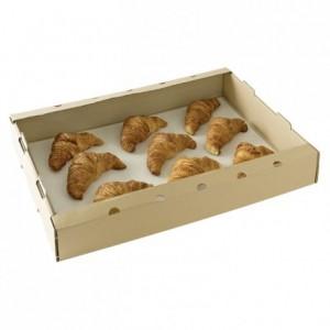 Cagette carton ondulé brun 640 x 420 x 90 mm (lot de 50)