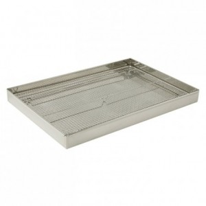 Baba draining box stainless steel 600 x 400 mm