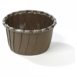 Caissette carton marron Ø 54 x 40 mm (lot de 250)