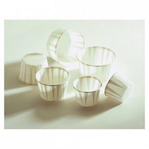 Caissette cuisine blanche n° 7 Ø 44 mm (lot de 250)