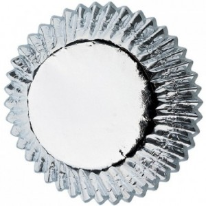 Wilton Mini Baking Cup Silver pk/36