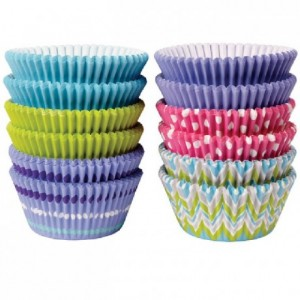 Wilton Baking Cups Assorted Pastel pk/300