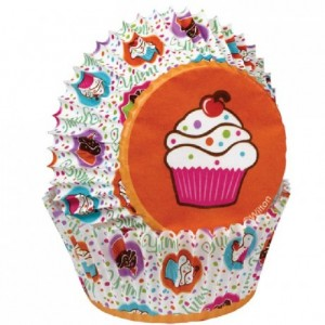 Wilton Baking Cups Cupcake Party pk/75