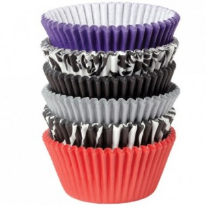 Wilton Baking Cups Damask Zebra pk/150