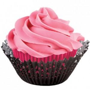 Wilton Baking Cups Doily Pink pk/48