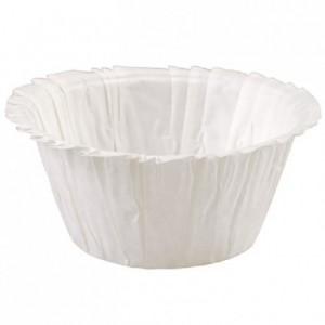 Wilton Ruffled Baking cups White pk/24