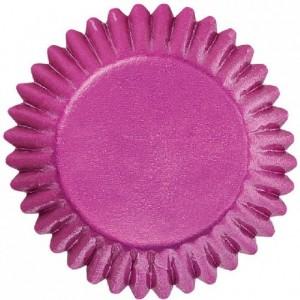 Caissettes Wilton mini pour bonbons rose 75 pièces