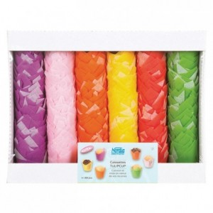 Assorted Tulipcup Large Ø 50 mm (240 pcs)