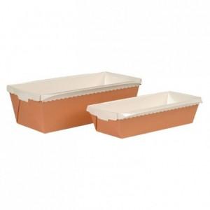 Cake rectangulaire évasé Optima carton L 230 mm 100 cL (lot de 40)