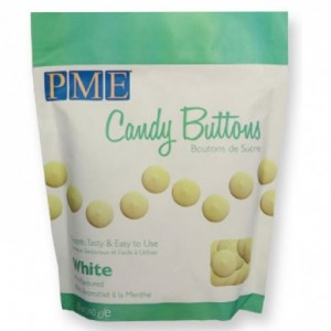 Candy Buttons PME blanc 340 g