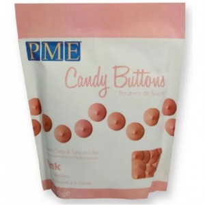 Candy Buttons PME rose 340 g