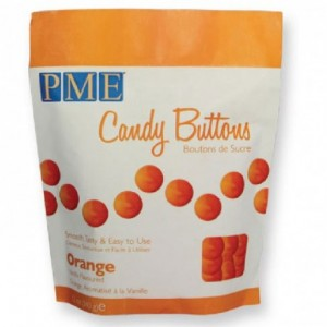 Candy Buttons PME orange 340 g