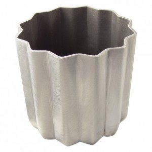 Canelé bordelais mould aluminium non-stick Ø55 mm