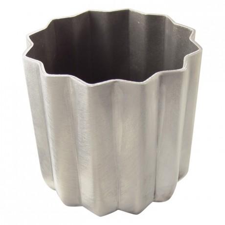 Canelé bordelais mould aluminium non-stick Ø55 mm