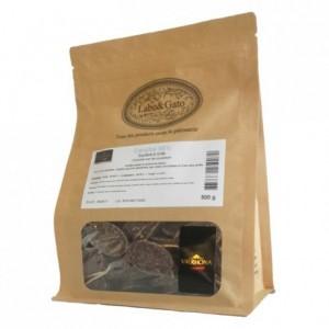 Caraïbe 66% chocolat noir de couverture Mariage de Grands Crus fèves 500 g