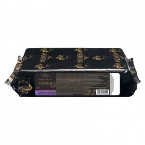 Caraque 56% chocolat noir de couverture Mariage de Grands Crus blocs 3 kg