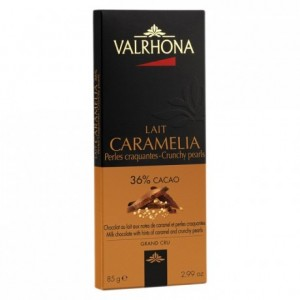 Caramélia 36% et perles craquantes tablettes 85 g