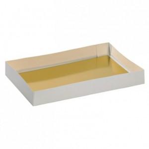 Gold cardboard 600 x 400 mm (25 pcs)