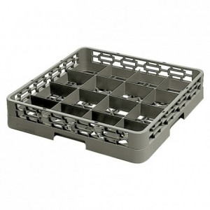 16-compartment glass tray 115 x 115 x 100 mm