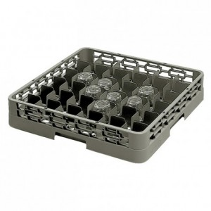 36-compartment glass tray 75 x 75 x 100 mm