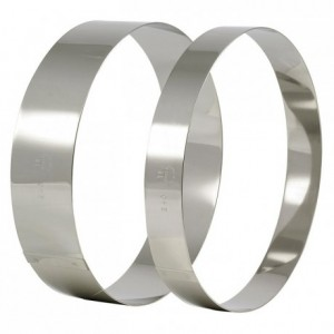 Mousse ring stainless steel Ø 220 mm H 45 mm