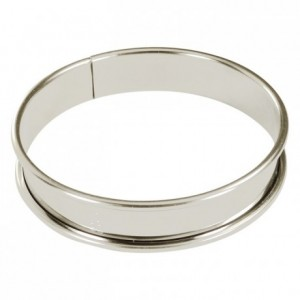 Tart ring tin H20 mm Ø100 mm (pack of 6)