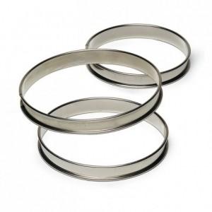 Cercle à tarte inox H27 Ø140 mm