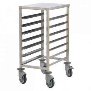 7-shelf low trolley GN 1/1 630 x 460 x 900 mm