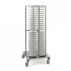 96-plate storage 700 x 700 x 1820 mm
